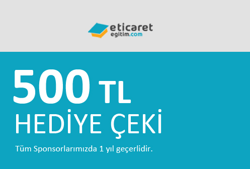 500 TL Hediye Çeki Kazan